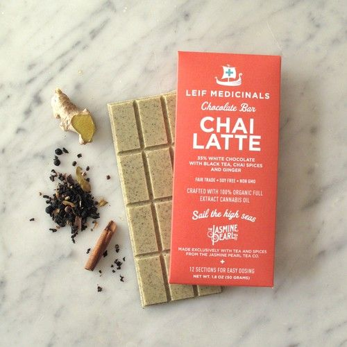 chai latte cannabis chocolate